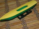 Лодка и багажник для Л/А (зел. -желт. )